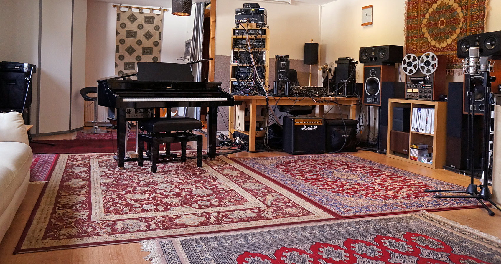 Edinburgh Recording Studio - Anvil Studio live recording